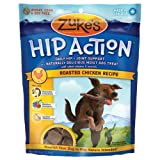 Zukes Hip Action Natural Dog Treats, Chicken, 6oz