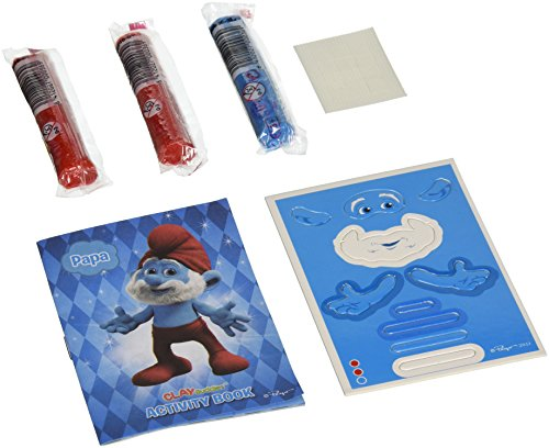 Giromax Smurfs Blister Clay Buddies - 1