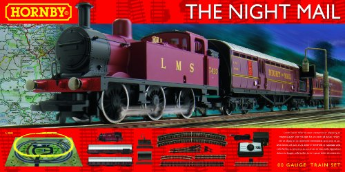 Hornby R1144 LMS Night Mail OO Gauge Electric Train Set