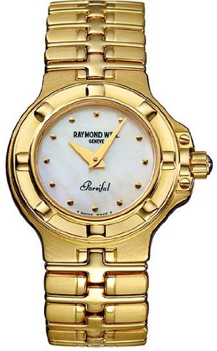 Raymond Weil Parsifal 18K Yellow Gold Ladies Watch 10280-G-97005