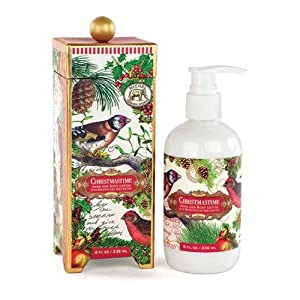 Michel Design Works Hand and Body Lotion, Christmastime, 8 Fluid Ounce