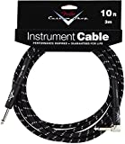FENDER CABLE 3 M COUDE TWEED NOIR CUSTOM SHOP SERIES Accessoires guitare Cable Cable instrument