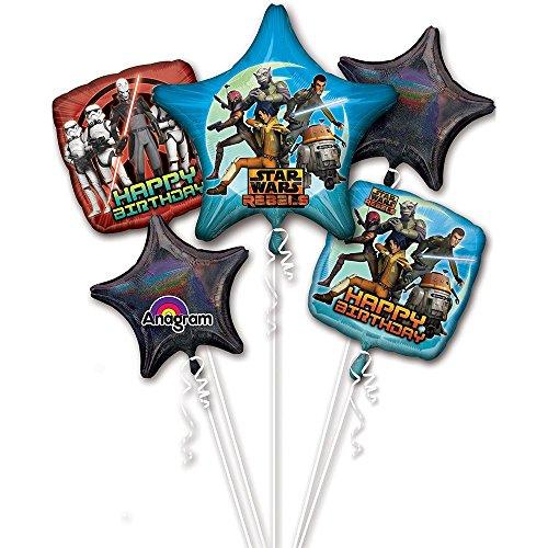 1 X Star Wars Rebels Balloon Bouquet (Each)