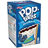 Kelloggs Pop-Tarts Blueberry Frosted 8 pieces (416g)