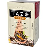 Tazo Teas, Well-Being Tazo Focus, Black Tea, 16 Philtrebags, 1.52 oz (43 g)