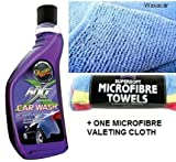Meguiars NXT Generation Car Wash 532ml + 1 FREE Microfibre Cloth