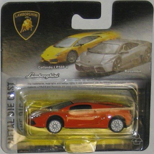 LAMBORGHINI GALLARDO LP 560-4 (orange) 1:64 Scale Collectible Die Cast Car - 1