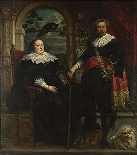 'Jacob Jordaens Portrait Of Govaert Van Surpele And His Wife ' Oil Painting, 16 X 18 Inch / 41 X 46 Cm ,printed On Perfect Effect Canvas ,this High Definition Art Decorative Canvas Prints Is Perfectly Suitalbe For Home Office Gallery Art And Home Decoration And Gifts (Remote Pressure Balance Valve compare prices)