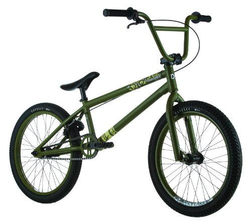 Diamondback Signature BMX Bike, Olive, 20-Inch Wheels