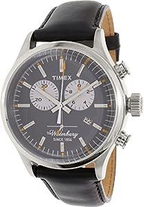 Timex Men's TW2P75500AB Heritage Collection Analog Display Quartz Black Watch