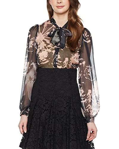 ZZ_Dolce & Gabbana Blusa Seda Negro