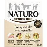Naturo Senior Turkey and Rice Wet Dog Food, 400 g(pack of 10)