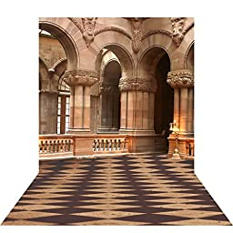 Ouyida European architecture 10X15FT(300X450CM) Pictorial cloth Customized photography Backdrop Background studio prop GQ05
