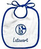 FC Schalke 04 Babylätzchen Latzwart