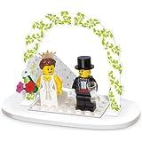 LEGO Mini Figure Set #853340 Wedding Bride Groom Table Decoration