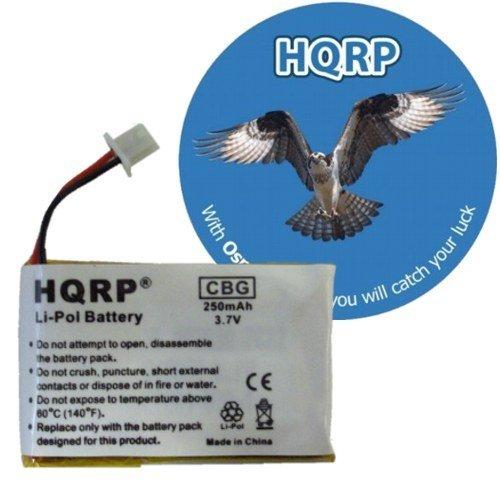 Hqrp Battery For Plantronics Savi Office Wo300 Wo350 Headset Plus Coaster