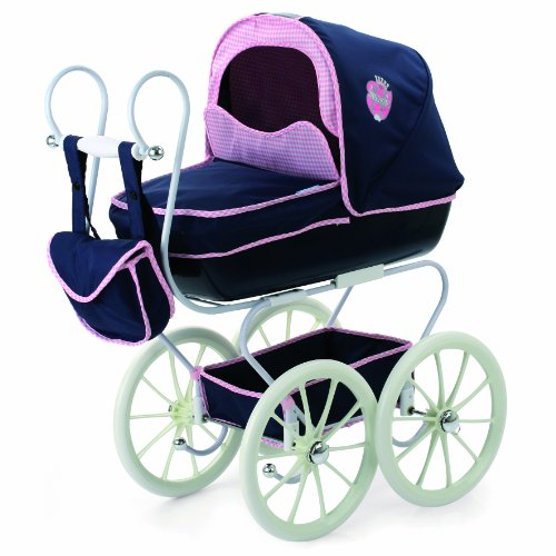 Hauck Doll's Classic Pram with Detachable Carry Cot