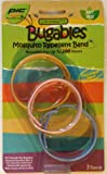 BUGABLES Mosquito Bug Repellent Bracelet Bands DEET FREE ReUsable For Up to 200 Hours (Set of 3)