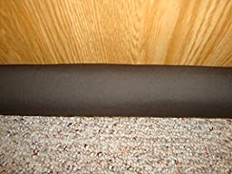 Door Draft, Light, Dust Stopper All Natural Buckwheat, Many Colors & Sizes (3\
