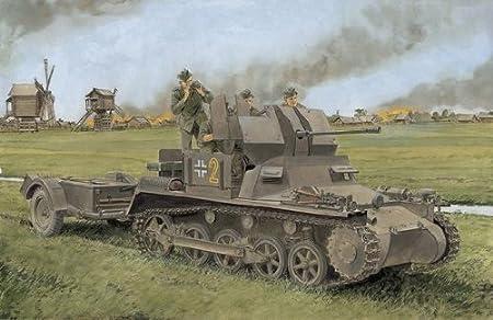 Maquette Flakpanzer I, 2ème GM
