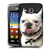 Head Case Bulldog Funny Animals Back Case Cover For Samsung Galaxy Xcover S5690