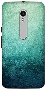 The Racoon Lean Blue Grunge hard plastic printed back case/cover for Motorola Moto X Style