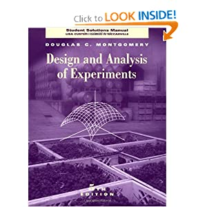Design And Analysis Of Experiments Montgomery Pdf Free Download
