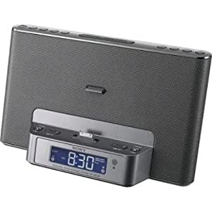 Sony ICFCS15IP 30-Pin iPod/iPhone Speaker Dock (Silver) (Discontinued by Manufacturer)