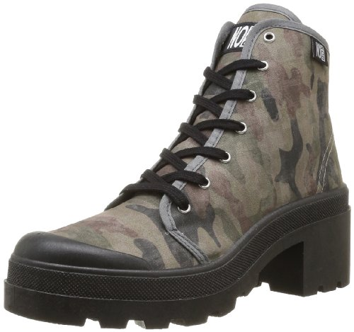 No Box - Galia, Sneakers donna, color Nero (Camouflage), talla 38 EU