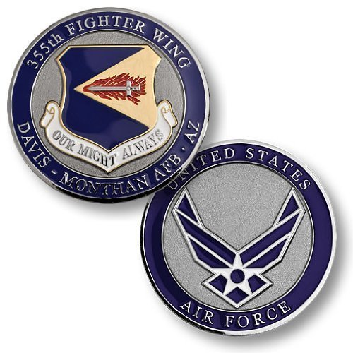 355th Fighter Wing, Davis-Monthan AFB, AZ Challenge Coin