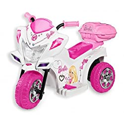 Marktech Barbie Trike Scooter Pink & White
