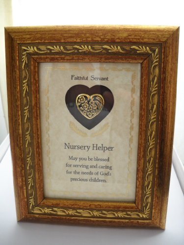 Faithful Servant Easel Back Frame/Nursery Helper