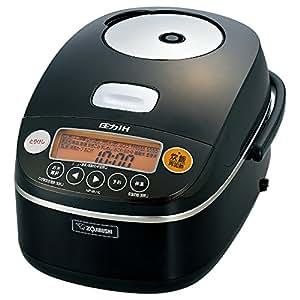 象印 圧力IH炊飯器 5.5合 ブラック NP-BU10-BA