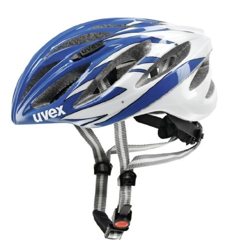 UVEX Radhelm Boss race, blue-white,