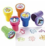 "24 ""Ocean Life"" Stampers-Fish, Penguin, Shark-Kids Party Favors"
