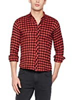 Philip Loren Camisa Hombre (Rojo / Negro)