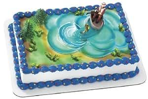 Amazon.com: Fishing Action Set Cake Decorating Kit (4