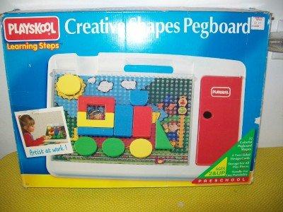 Playskool Creative Shapes Pegboard Learning Steps - 1
