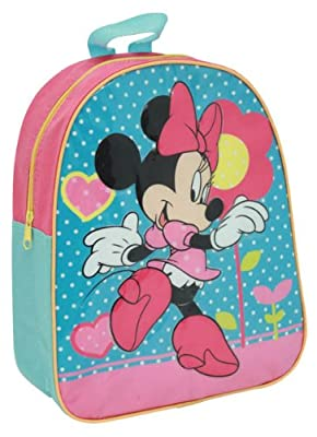 Minnie Mouse Junior Backpack - Toddler School Bag Size from Kids Stuff