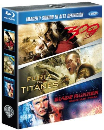 300 + Furia De Titanes + Blade Runner [Blu-ray]