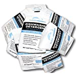 Bubble Bandit Dishwasher Detergent. Trial Size Box of 10 (1 oz.) Convenient Portion Control Packets.