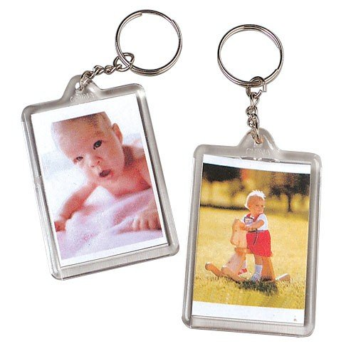 Photo Key Chains wallet size 1 in. x 2 in. photo 12/Pk - 1