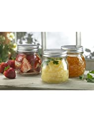 3.5 inch Screw-Lid Preserving Jars by 