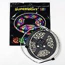 SUPERNIGHT (TM) RGB 5M Waterproof Epoxy 5050 300 SMD LED Strip Light
