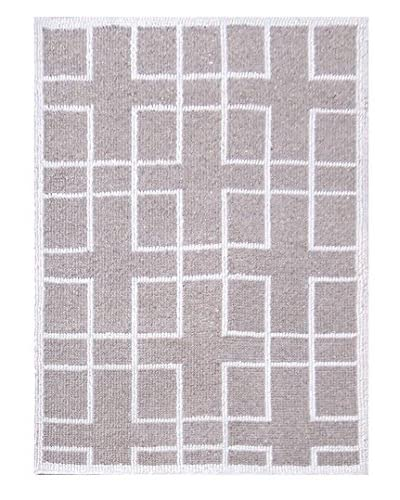 Jaipur Limited Production Hand-Tufted Naturals Tobago Rug, Ivory/White, 5′ x 8′