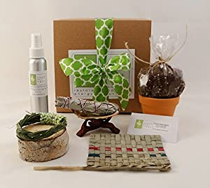 Sage Smudge Housewarming Gift Set With Sage