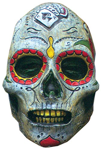 Day Of The Dead Zombie Horror Latex Adult Halloween Costume Mask