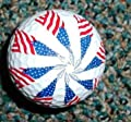 USA American Red White Blue Flags Novelty Golf Ball from Novelty Golf Balls