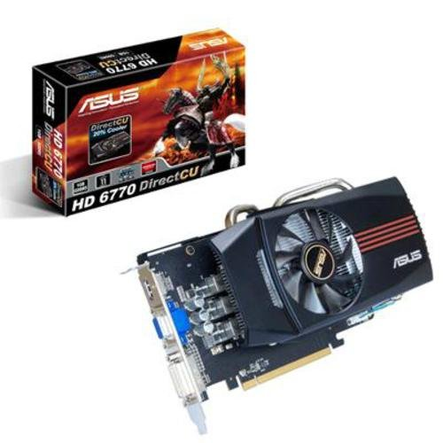 Asus 1Gb Radeon HD6770 DirectCU GDDR5 Graphics Card