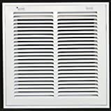 "12"" x 12"" RETURN FILTER GRILLE - Easy Air FLow - Flat Stamped Face"
